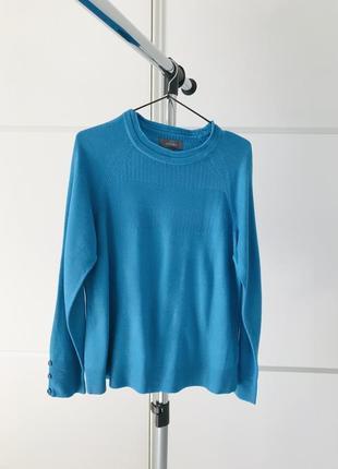 Свитер, ярко синяя кофта, теплый свитер от per una, синий-тренд 2021.