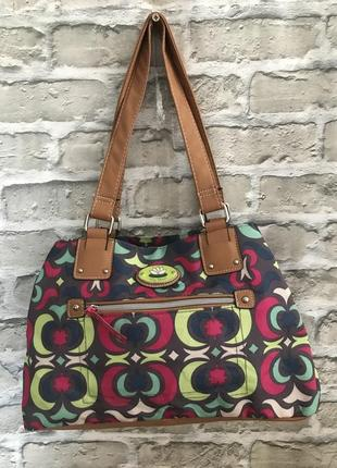 Женская летняя цветная сумка