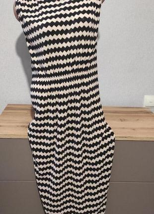 Платье зигзаг