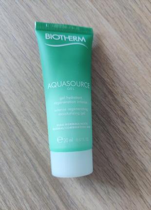 Biotherm aquasource гель для лица