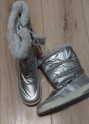Сноубутсы/зимние ботинки для девочки р, 33, германия pepperrts