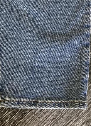 Базовые женские джинсы синие бойфренд gigi girlfriend5 фото