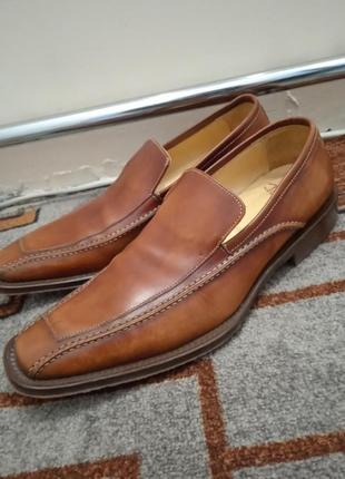 Туфли кожа, мужские ,42размер, hand made