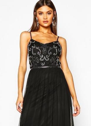 Платье/вечернее платье/сукня/коктейльное/нарядное/длинное/в пол/расшитое/пайетки/в паетках