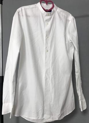 Супер стильная рубашка стойка