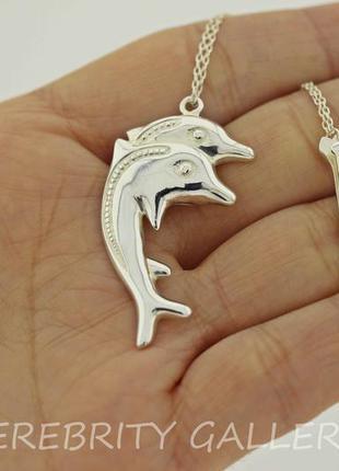 10% скидка - подписчикам! ионизатор дельфин сувенир серебряный. 9561 серебро