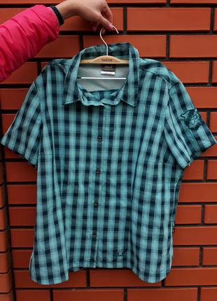 Легкая рубашечка от jack wolfskin xl