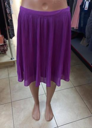 Юбка гофре, юбка в складку, летняя юбка