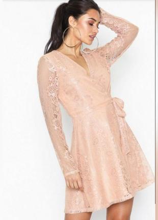 Платье на запах , вечернее платье