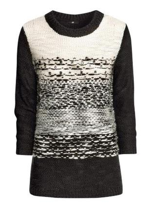 Шерстяной свитер h&m, xs