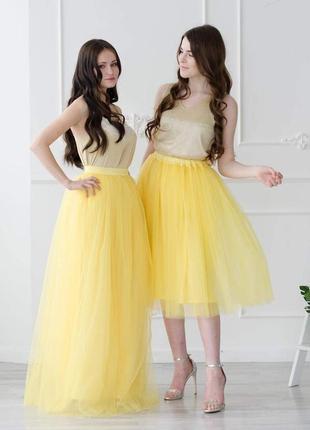 Модная прозрачная юбка