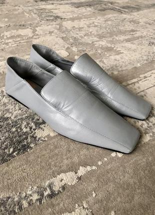 Стильные туфли мокасины лоферы zara