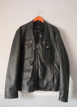 Куртка шкіряна курточка кожаная косуха бомбер
