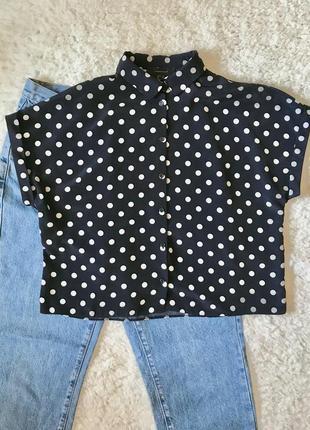 Рубашка / блузка / сорочка в горох