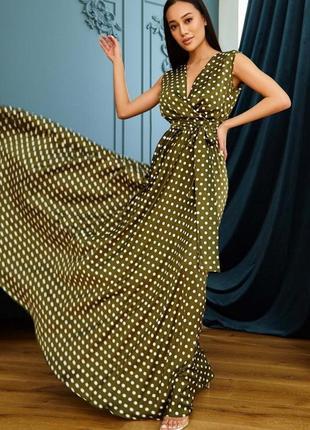 Платье таис хаки