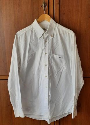 Вінтажна чоловіча сорочка/винтажная мужская рубашка lacoste.