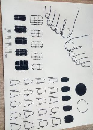 Коврик силиконовый для маникюра