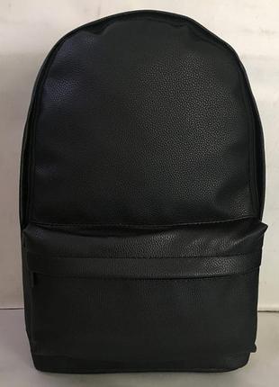 Рюкзак из экокожи,классический городской рюкзак