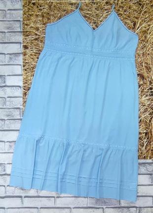 Платье, сарафан хлопок, большой размер