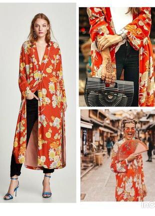 Шикарная накидка, кафтан, кимоно