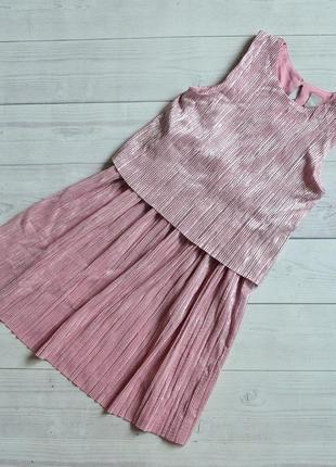 Нарядное платье tu 6лет 116см