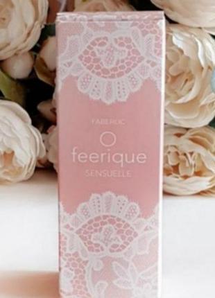 Самые низкие цены здесь 👍💸❗парфюмированная вода o feerique sensuelle от faberlic 15 мл3 фото
