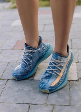 Женские кроссовки adidas yeezy boost 350 v2 israfil