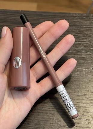 Помада wycon + карандаш в подарок