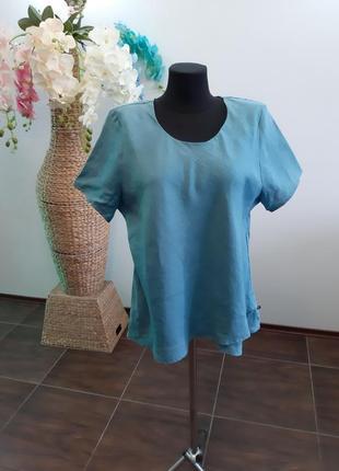 Блуза франция лен2 фото