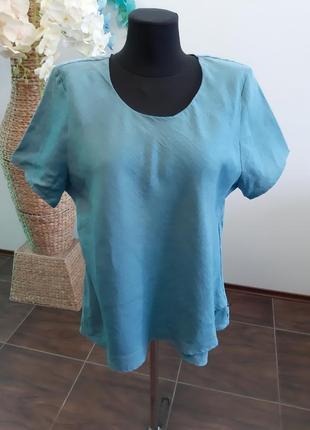 Блуза франция лен3 фото