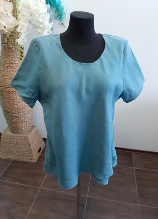 Блуза франция лен5 фото