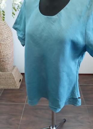 Блуза франция лен8 фото