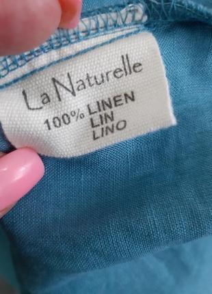 Блуза франция лен10 фото