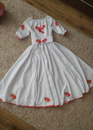 Вишиванка , вишиване плаття , нарядное платье вышивка