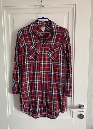 Удлинённая рубашка, длинная рубашка
