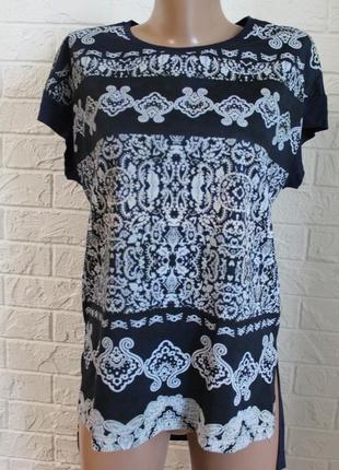 Трикотажная футболка janino в идеальном состоянии m