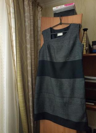 Прекрасное платье, в составе лен!