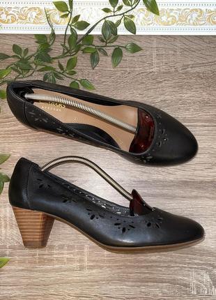 🌿39🌿 европа🇪🇺 clarks. кожа. фирменные качественные туфли