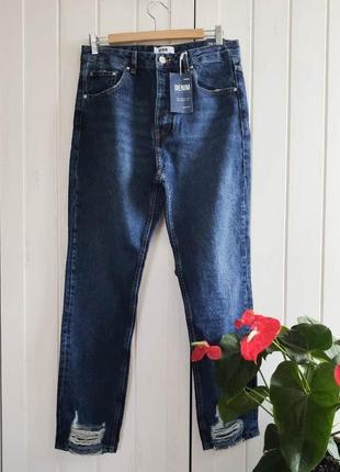 Синие джинсы от sinsay, размер м-l