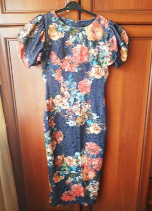 Платье вечернее в стиле dolce gabbana