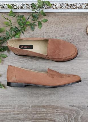 🌿39🌿европа🇪🇺 next. кожа, нубук. качественные фирменные туфли, мокасины