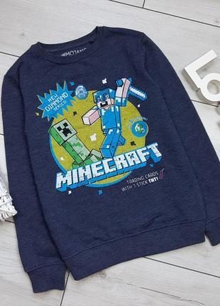 Свитшот next minecraft для мальчика