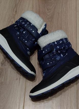 Сноубутсы/зимние ботинки для мальчика р. 33, 34,германия pepperrts