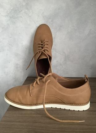 Мужские туфли zara размер 40
