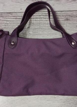 Фіолетова сумка багет 70 грн.