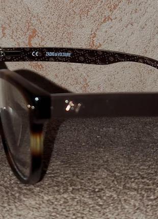 Очки оправа нулёвки имиджевая zadig&voltaire5 фото