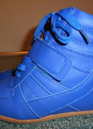 Стильные молодежные ботинки-сникерсы 38р