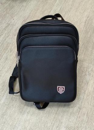 Рюкзак брендовий унісекс в кольорах чорний