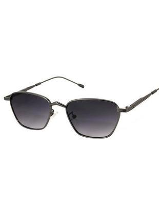 Оригинальные солнцезащитные очки rich person черной оправе