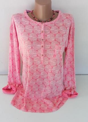 Женский тонкий свитерок 48-50 размера из 100% льна